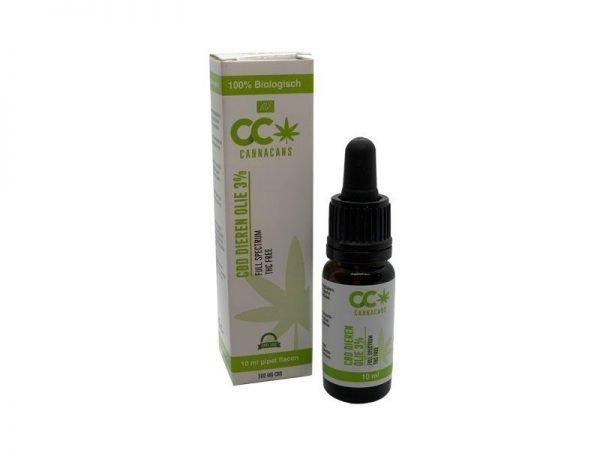cbd animal oil cannacans