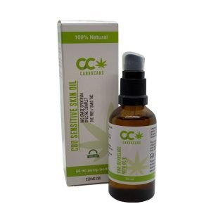 cbd sensitive skin oil