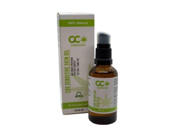 cbd sensitive skin oil